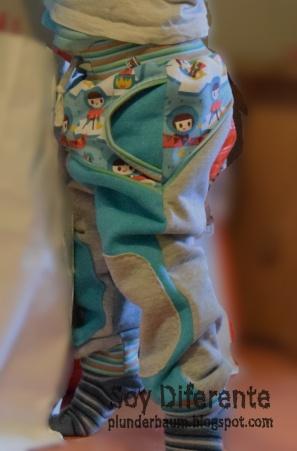 Wintercombi-getragen